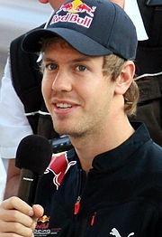 Себастьян Феттель, фото Wikipedia