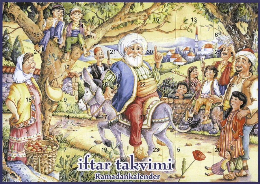 Мелани Войке: iftar takvimi— Ramadankalender. Флорштадт, 2005 год. Источник: Staatliche Museen zu Berlin. Preußischer Kulturbesitzt