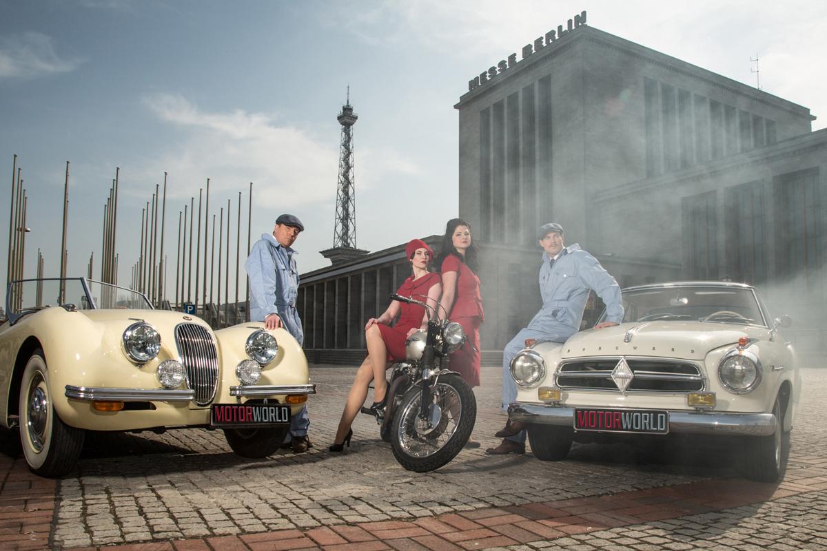 Фото ссайта motorworld-classics.de