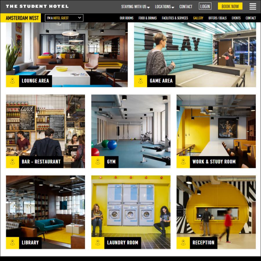 Изображение: скриншот сайта thestudenthotel.com
