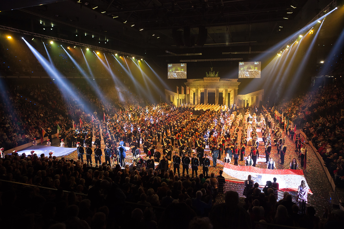 Вэти выходные пройдет фестиваль военных оркестров Berlin Tattoo. Фото: Денис Коновалов