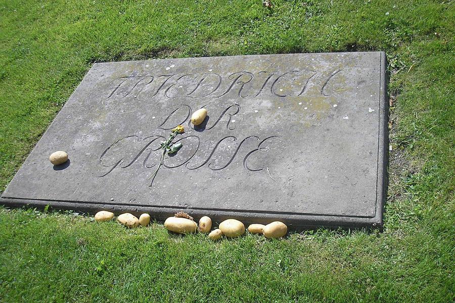 Могила Фридриха Великого вПотсдаме. Фото: Википедия