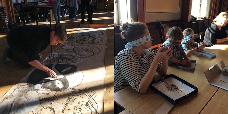 Семинар Елены Макаровой вБерлине, осень 2016г. Фото: Мария Павлова