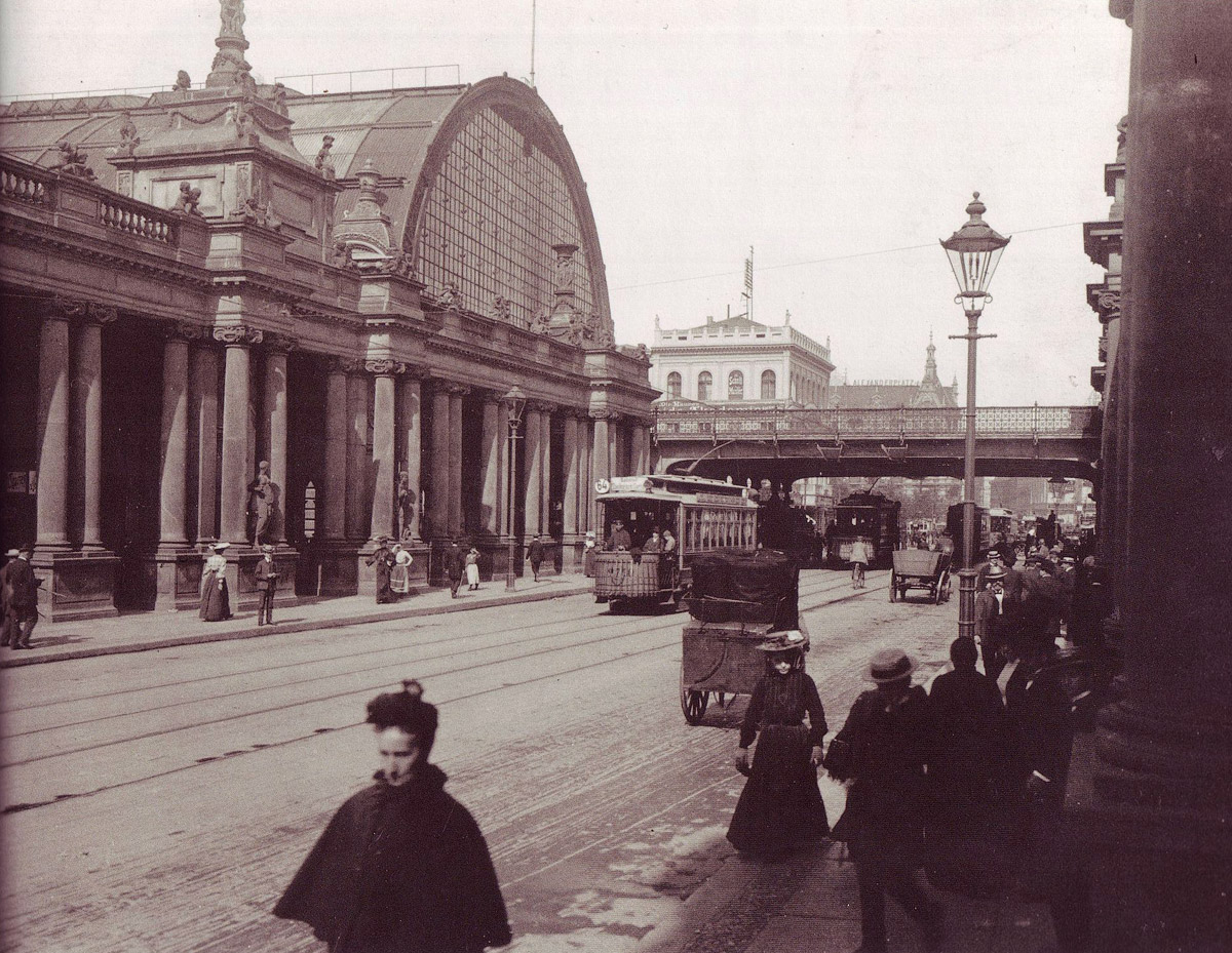 Вокзал Александерплац, 1904 год. Фото: Википедия