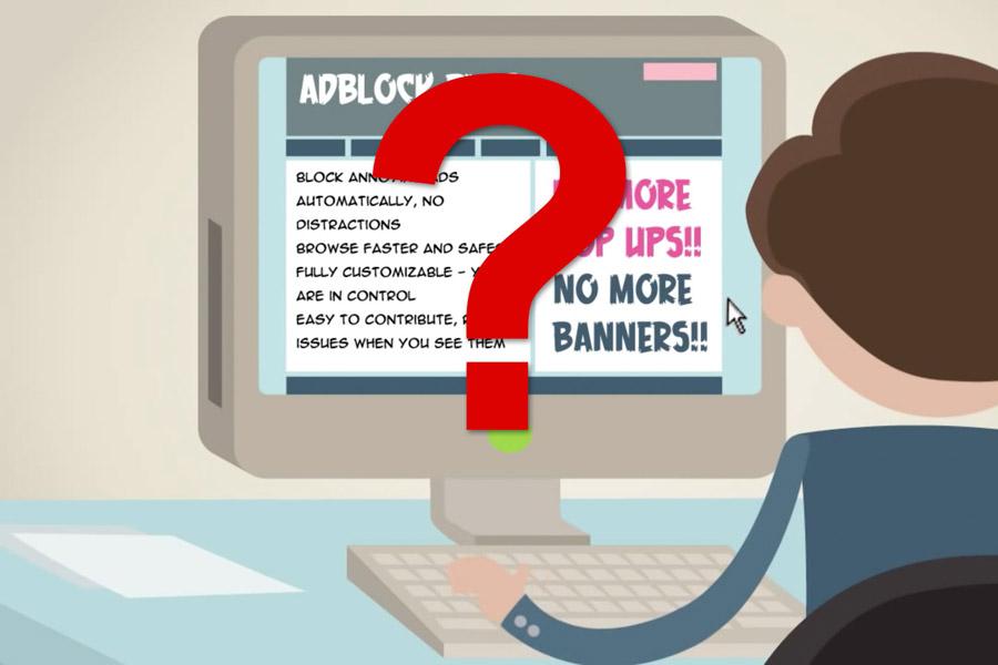Изображение: скиршот рекламного ролика AdBlock Plus