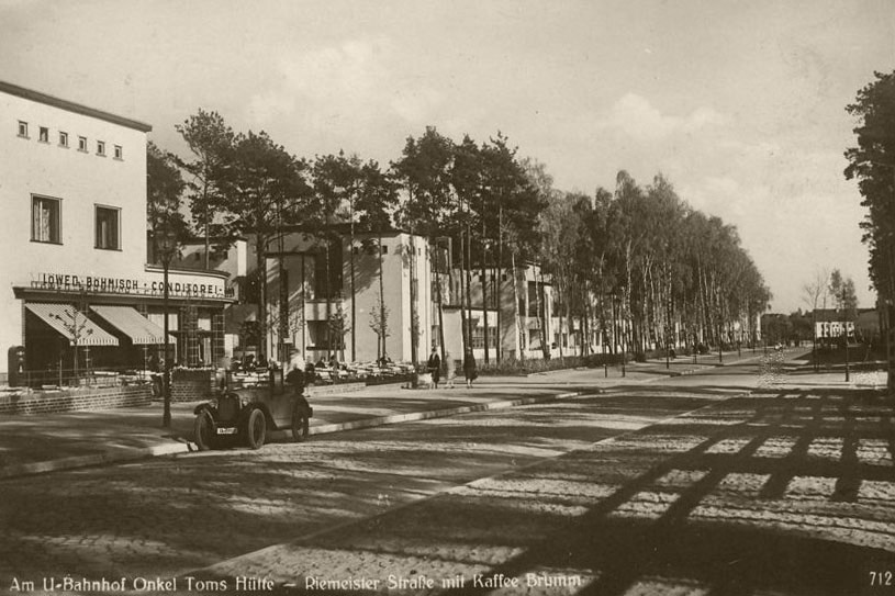 Станция метро Onkel Toms Hütte, 1930-е годы. Фото: Википедия