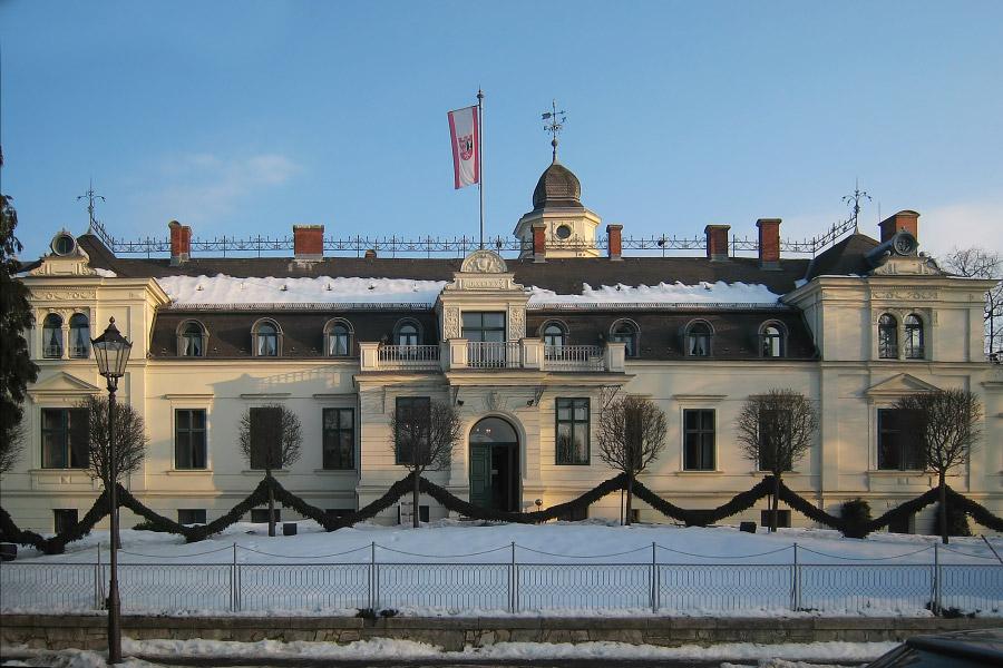 Замок Бриц. Фото: Википедия