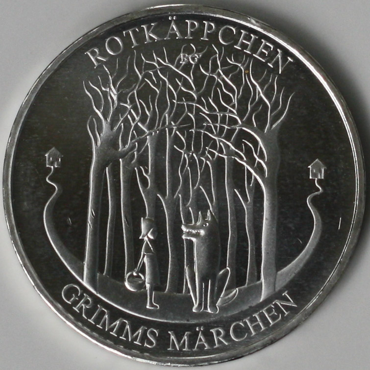 Коллекционная монета достоинством в 20 евро. Фото: Википедия