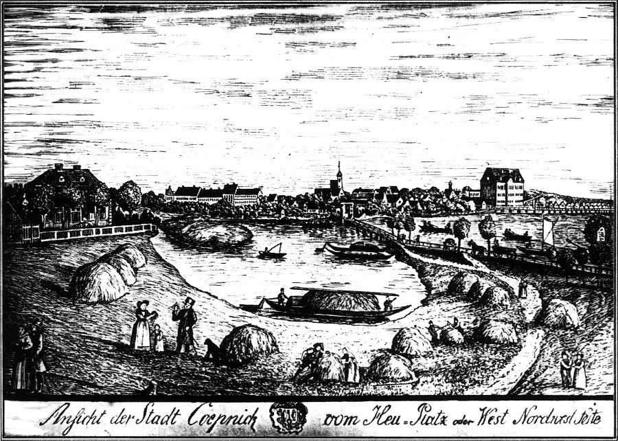 Город Кёпеник 1811г. Фото: Википедия