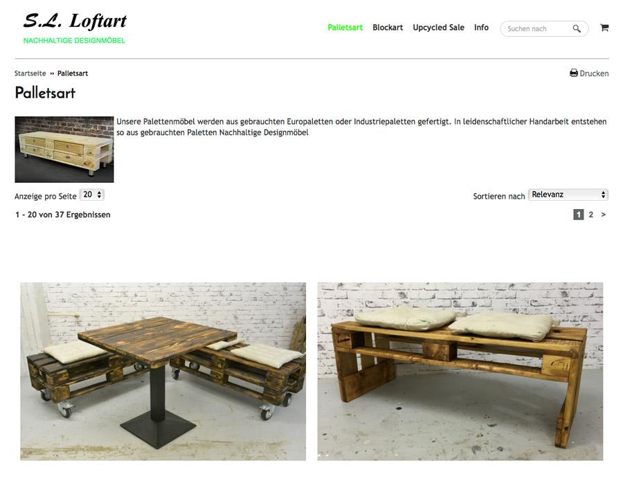 Изображение: скриншот сайта sl-loftart24.de