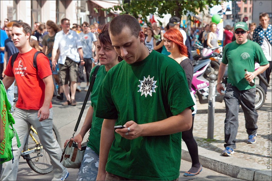 13. Hanfparade 2011. © LiveBerlin.ru