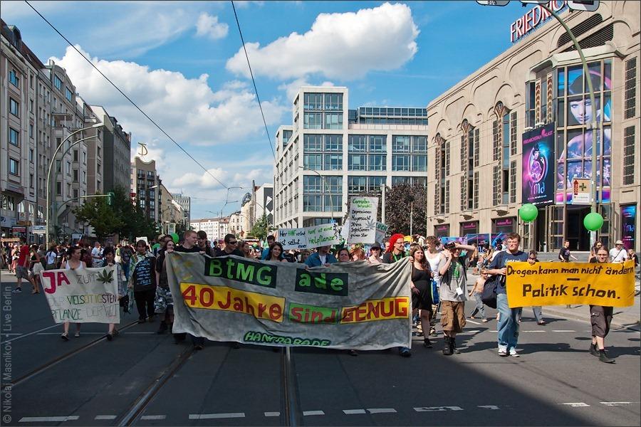 35. Hanfparade 2011. © LiveBerlin.ru