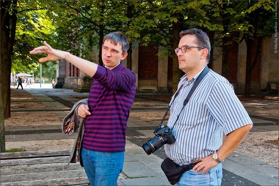 14. Алекс Экслер иСергей Доля вБерлине. © LiveBerlin