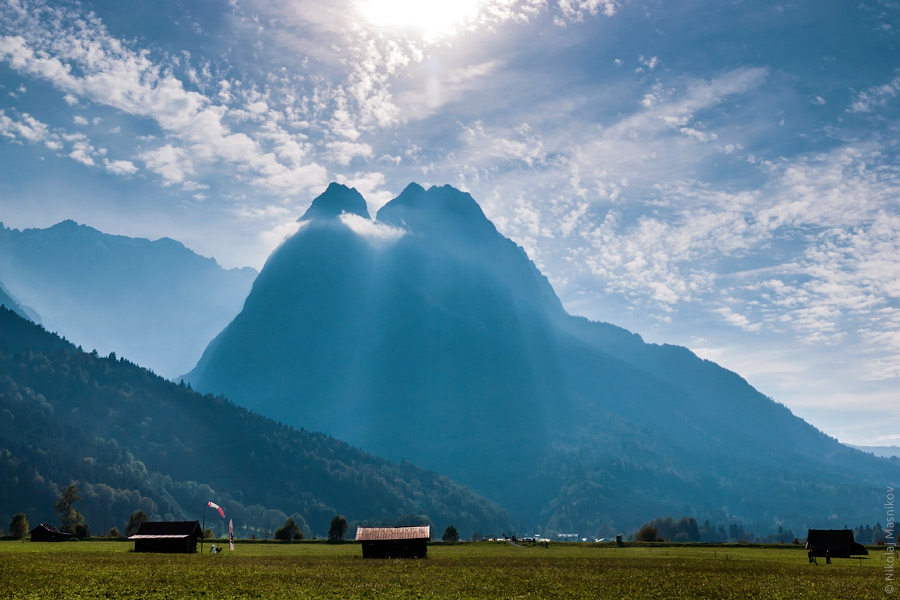 Zugspitze. © Живой Берлин, Николай Мясников