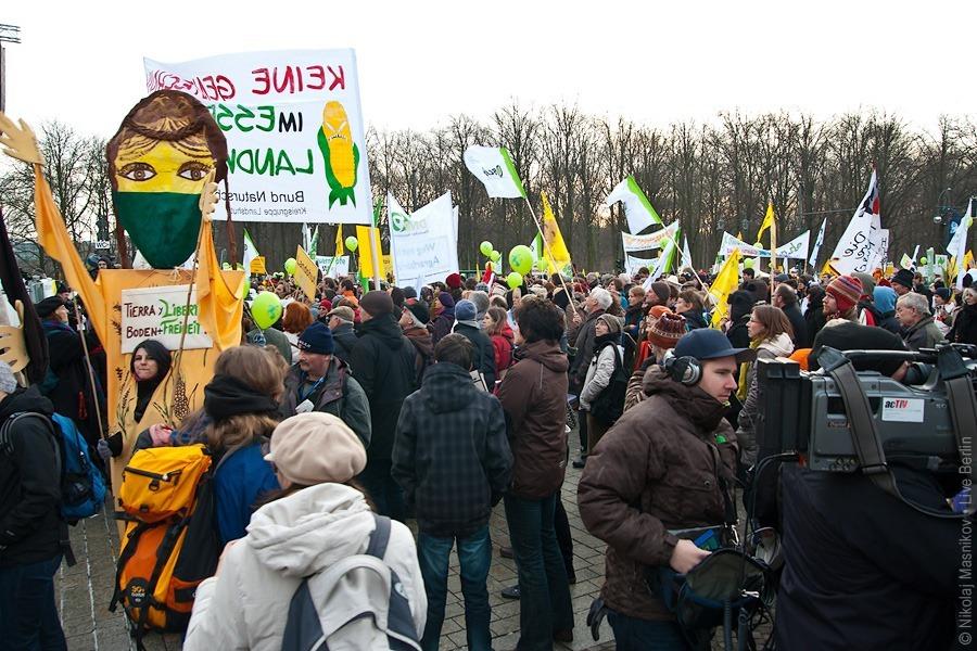 1. Демонстрация против ГМП