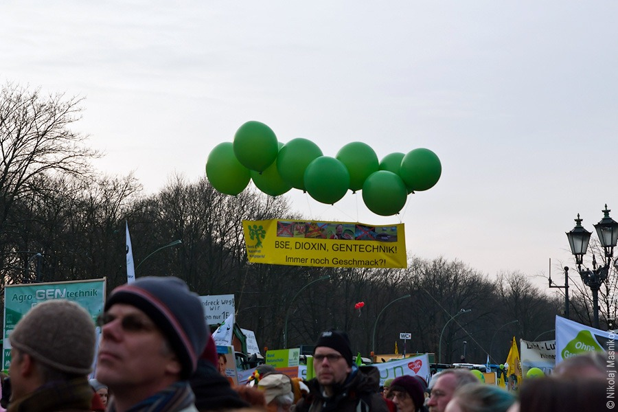 8. Демонстрация против ГМП