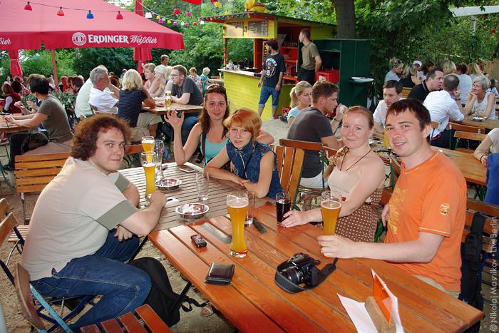 Встреча ru_berlin в биргартене Schleusenkrug