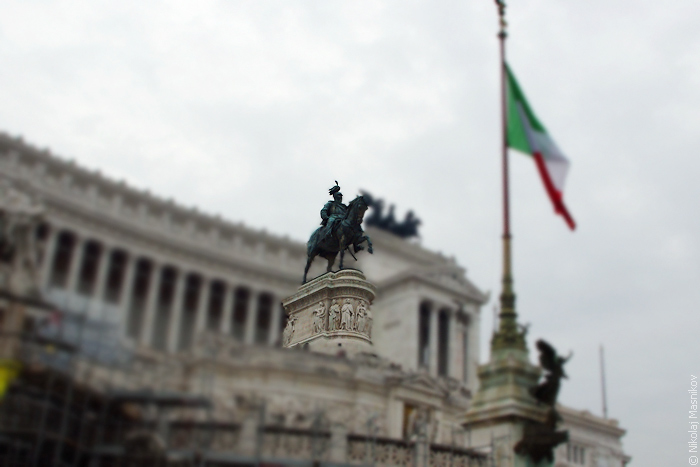 Витториано, монумент Виктору Эммануилу II, Алтарь Отечества