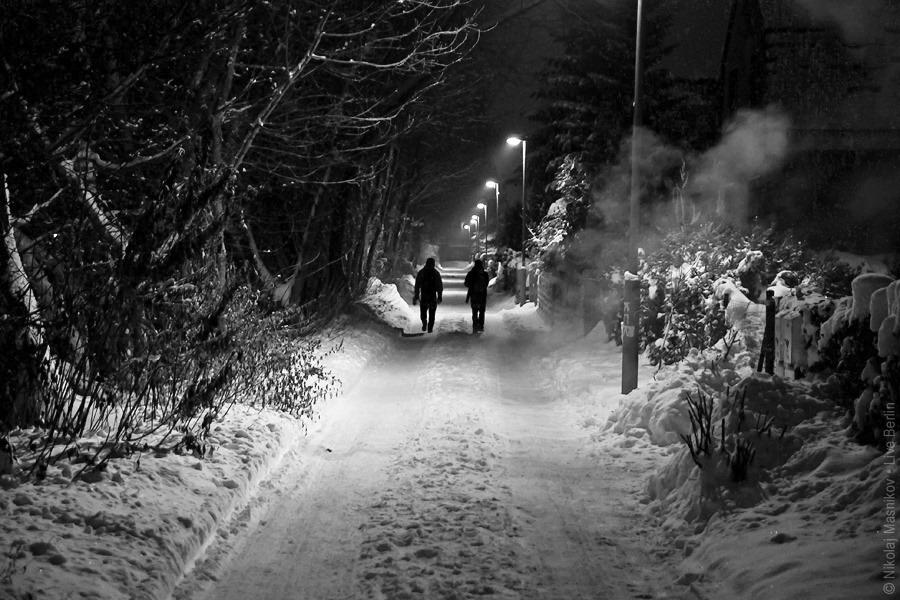 9. Чёрно-белая зима. Берлин. Хоэншёнхаузен