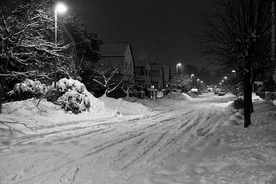 10. Чёрно-белая зима. Берлин. Хоэншёнхаузен