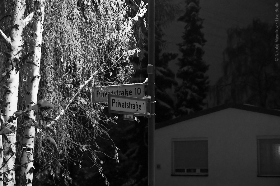 8. Чёрно-белая зима. Берлин. Хоэншёнхаузен