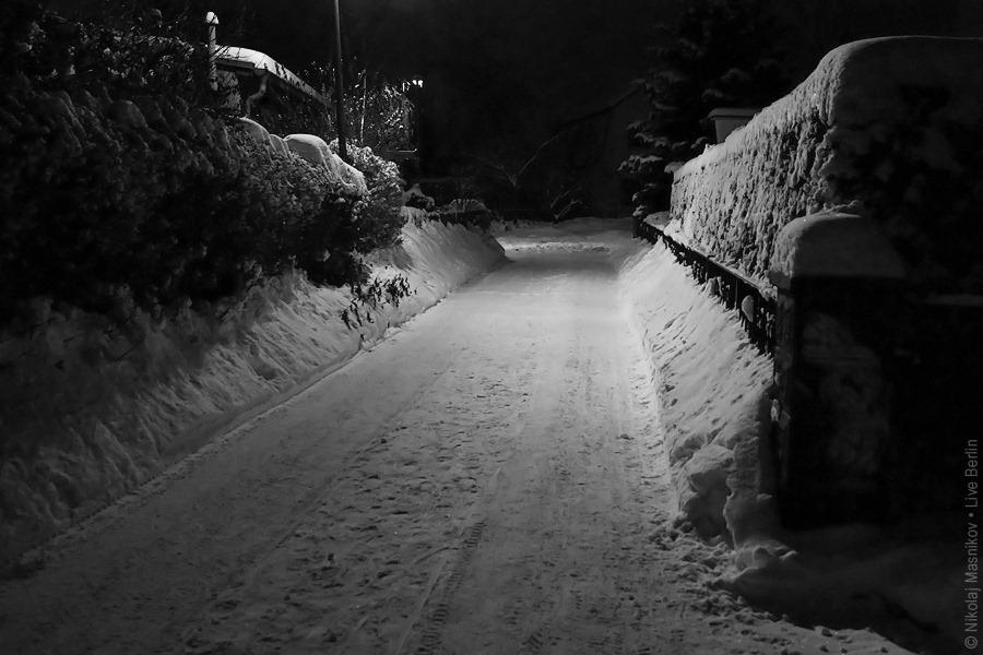 13. Чёрно-белая зима. Берлин. Хоэншёнхаузен