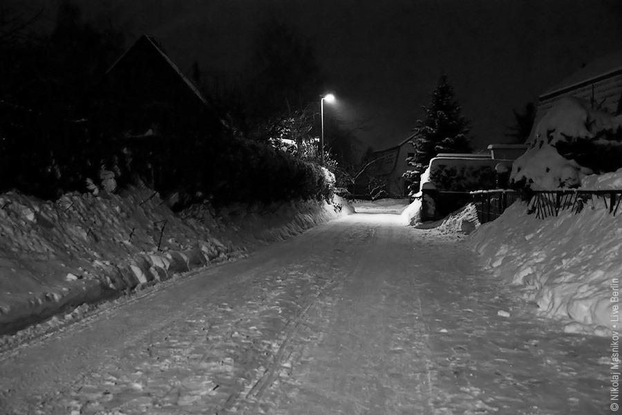 12. Чёрно-белая зима. Берлин. Хоэншёнхаузен