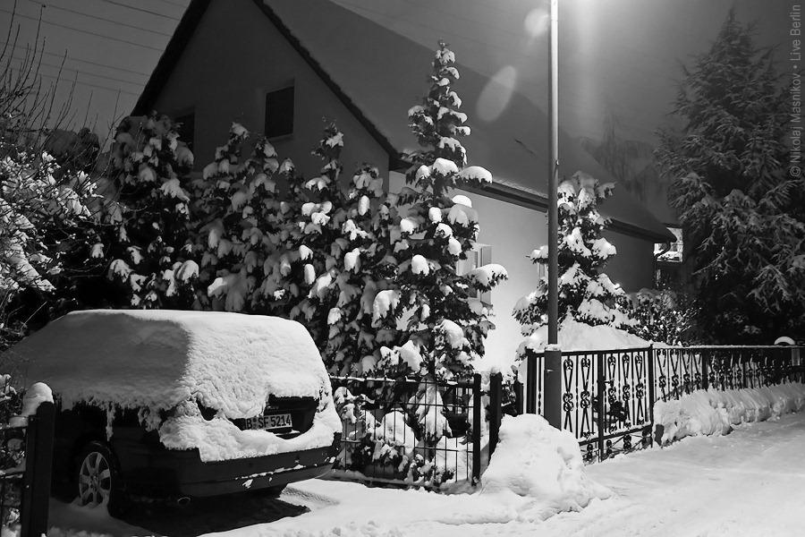 11. Чёрно-белая зима. Берлин. Хоэншёнхаузен