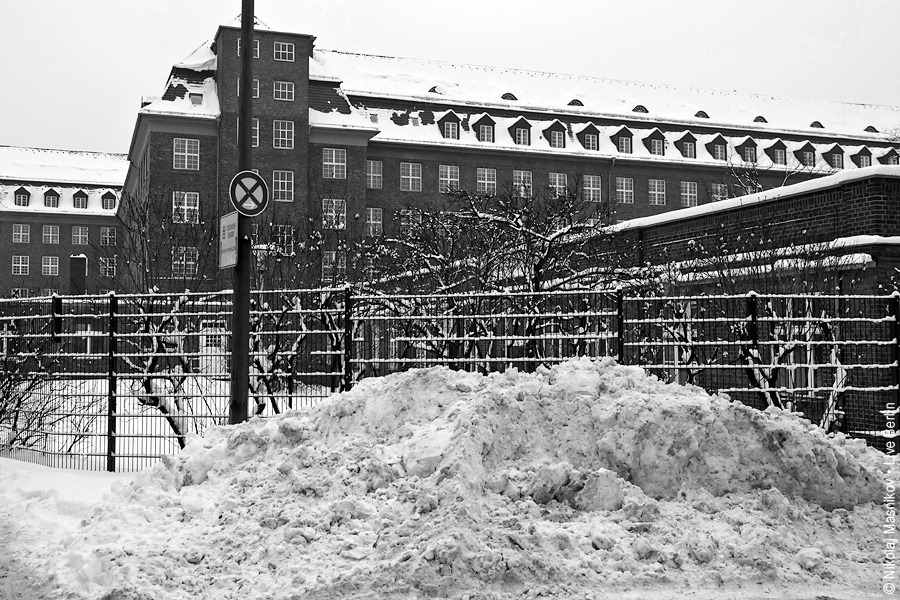 4. Чёрно-белая зима. Берлин. Сименсштадт