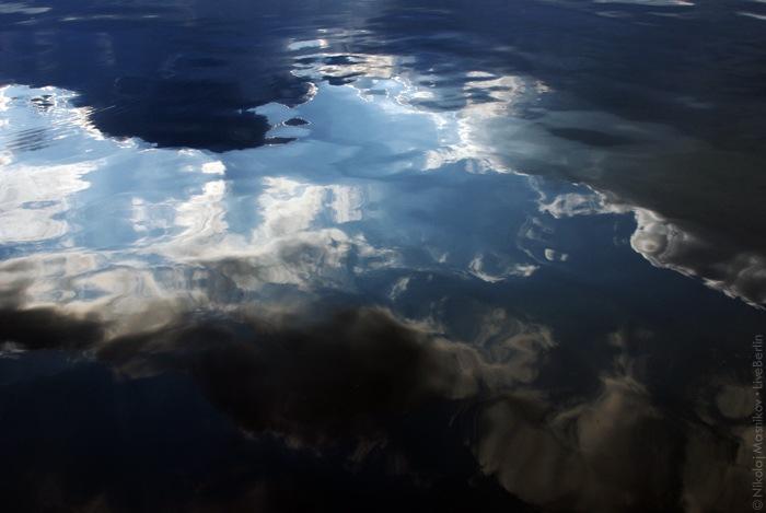 Небо в воде. Клик » место съёмки