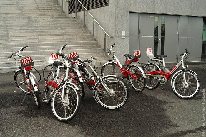 Сотовые велосипеды. Клик » место съёмки
