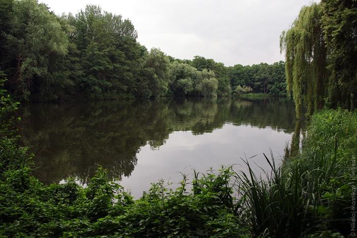 Пруд в парке Юнгфернхайде. Клик » место съёмки