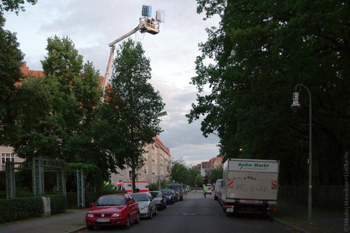 Съёмки фильма вСименсштадте
