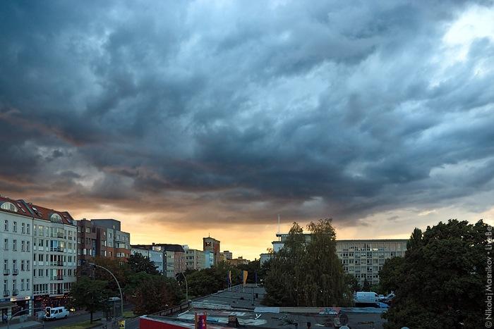 закат в Веддинге