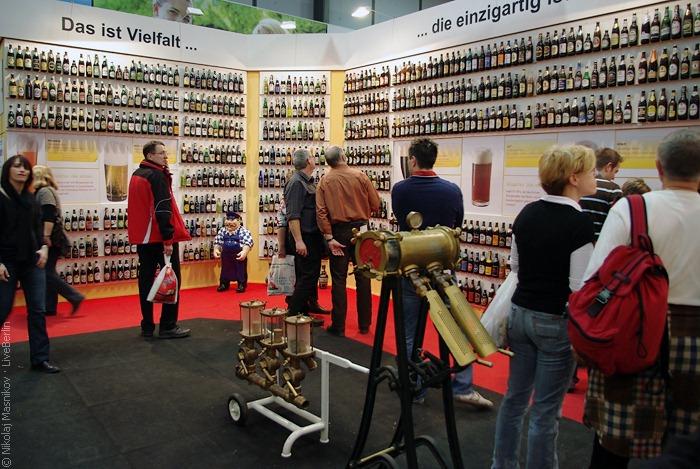 Одна изстен стенда союза немецких пивоваров