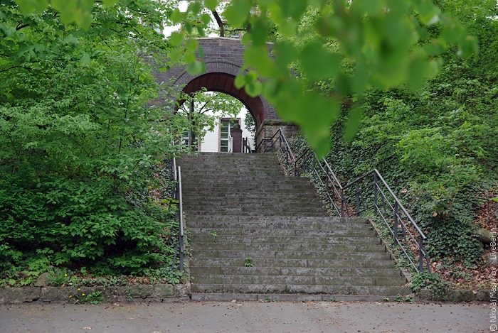 Прогулка уозера Lietzensee