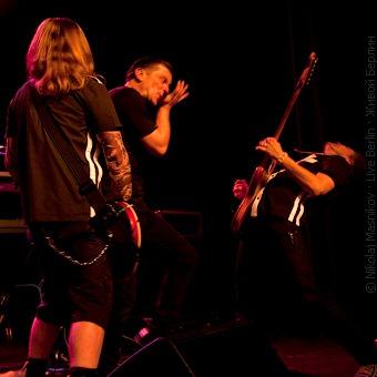 Шура, Лёва и Андрей. Концерт Би-2 в Берлине