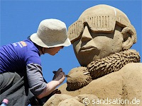 Sandsation 2010— фестиваль песчаных скульптур