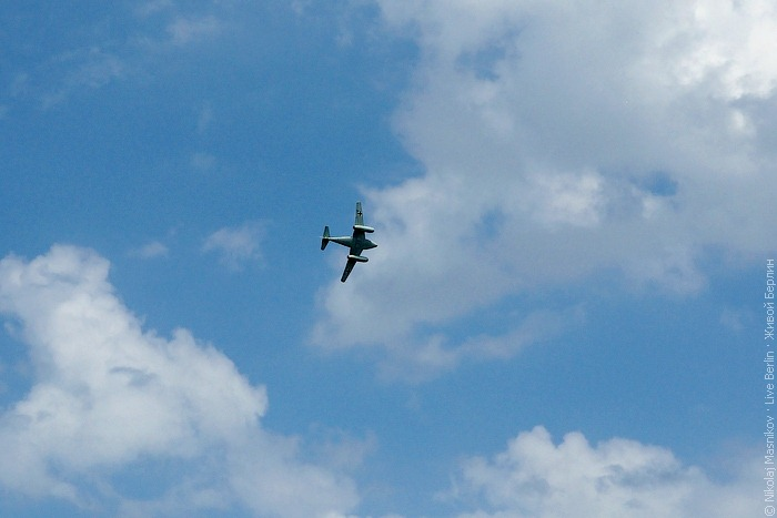 Messerschmitt Me 262 на авиа-шоу ILA 2010