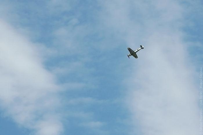 Messerschmitt Me 109 на авиа-шоу ILA 2010