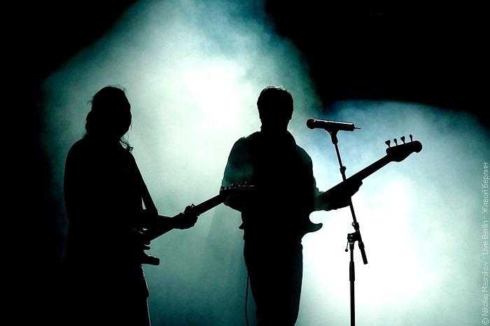 Ночь русского рока 2010. Слева Чиж