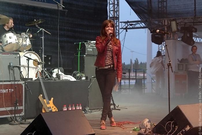 Ведущая концерта «Ночь русского рока 2010»