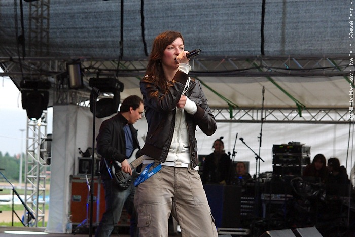 Fireflies на концерте «Ночь русского рока 2010»