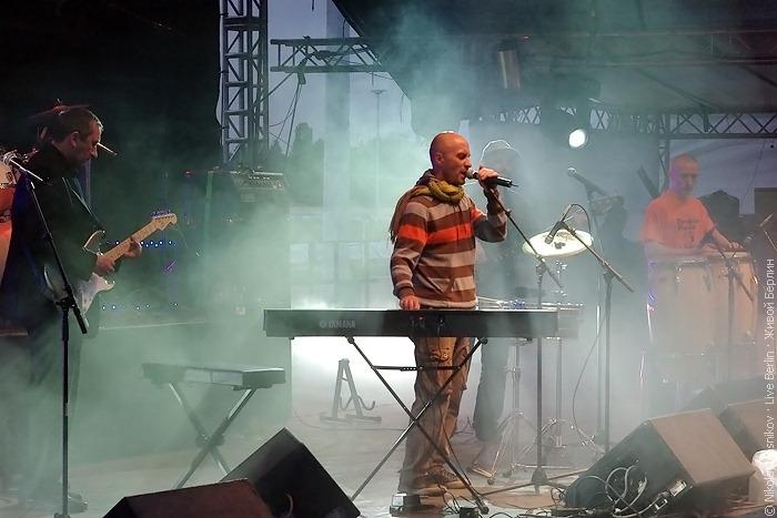 «Запрещённые барабанщики» на концерте «Ночь русского рока 2010»