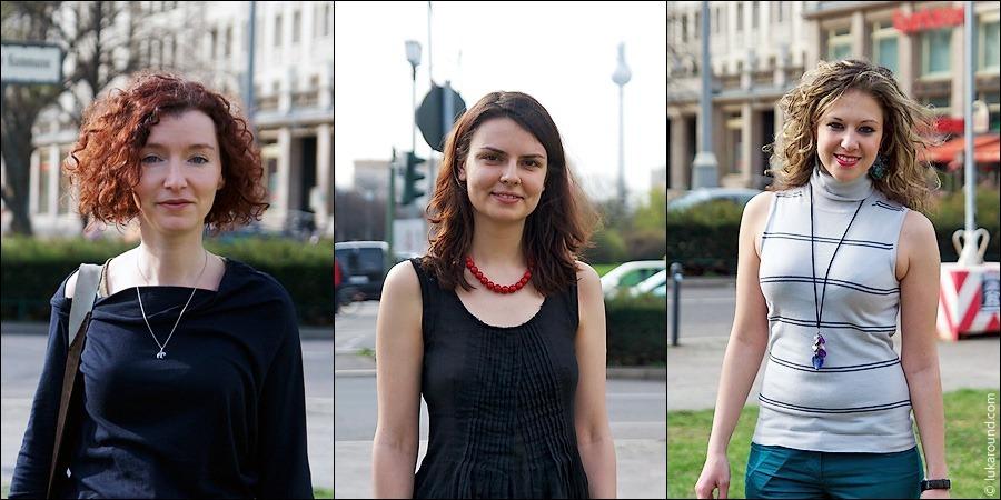 Команда гидов Lukaround.com: Майя, Александра, Алёна