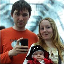 Сергей с семьёй